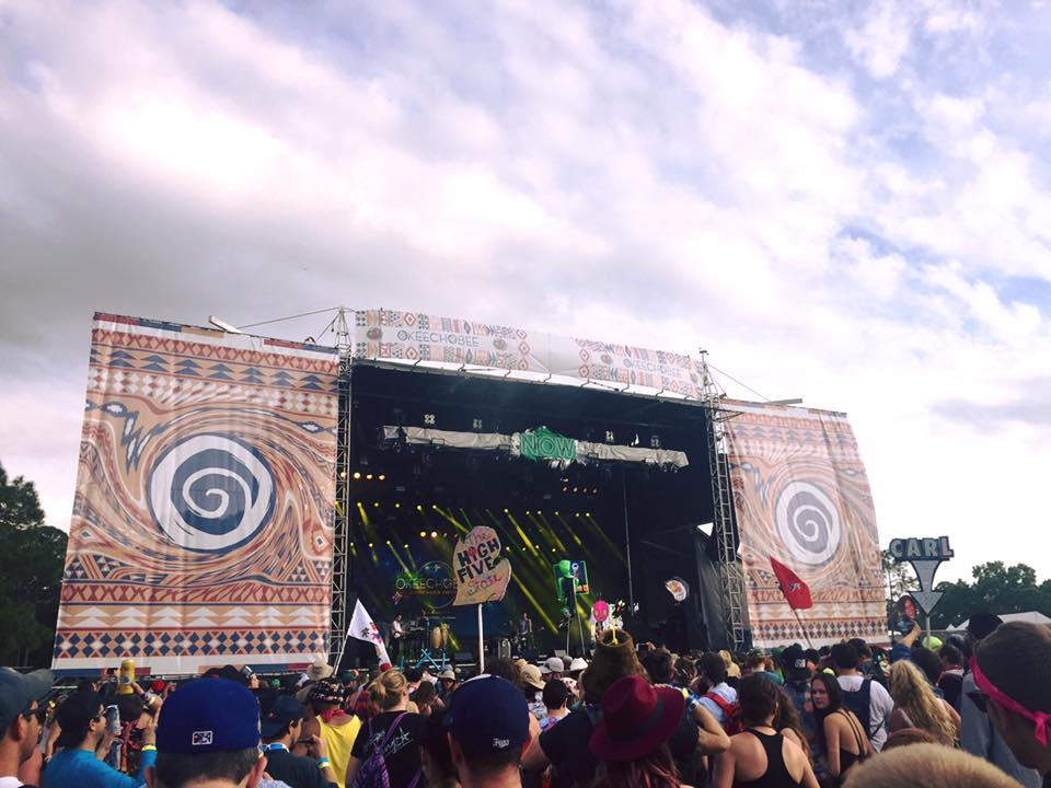 Now Stage at Okeechobee Music Festival, Florida