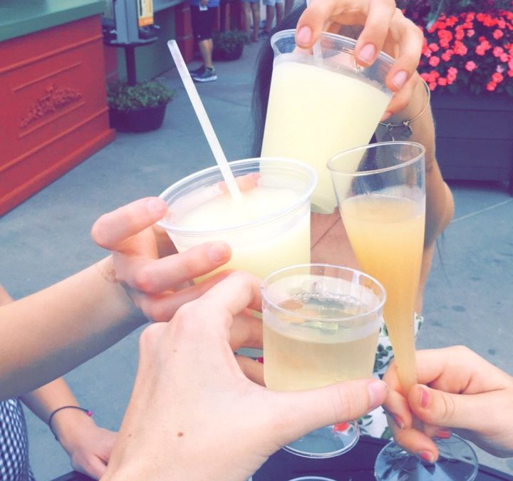 Drinking Around the World at Epcot
