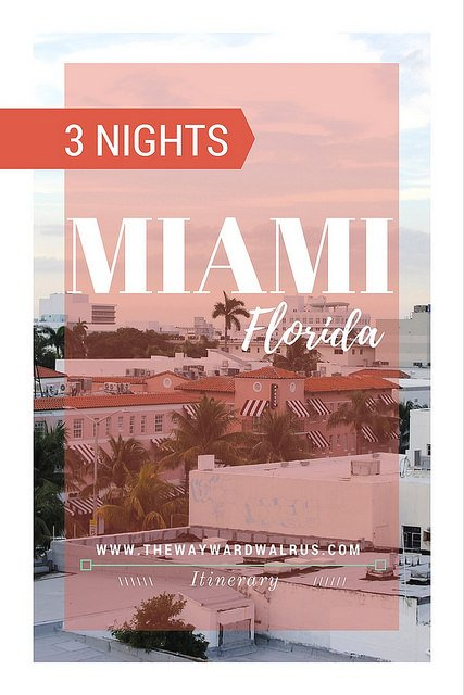 3 Nights in Miami