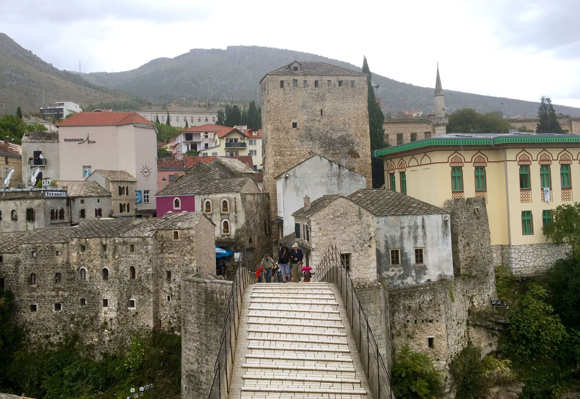 24 Hours in Mostar, Bosnia & Herzegovina Travel Itinerary - Walking across Stari Most