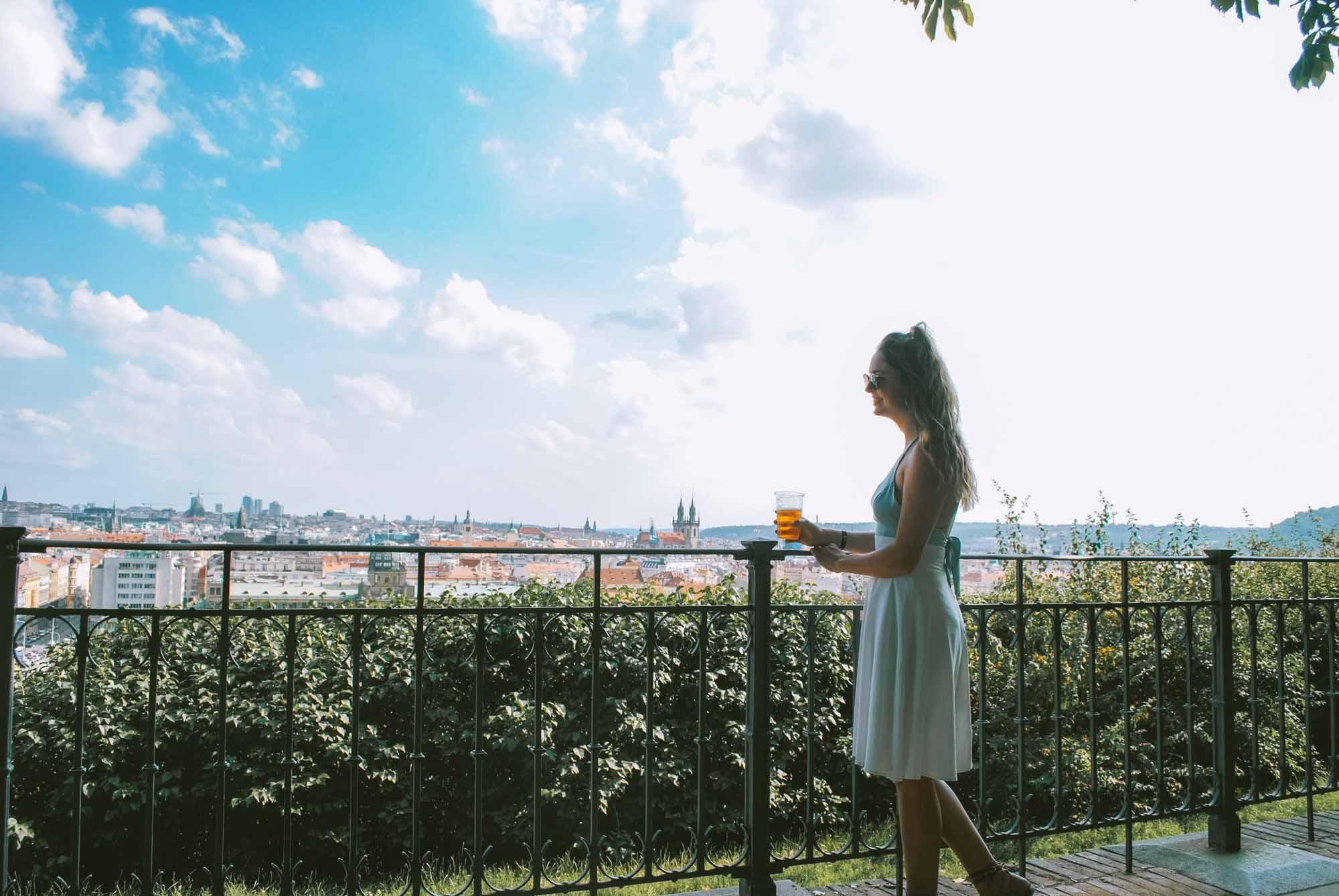 72 Hours in Prague_Letna Beer Garden