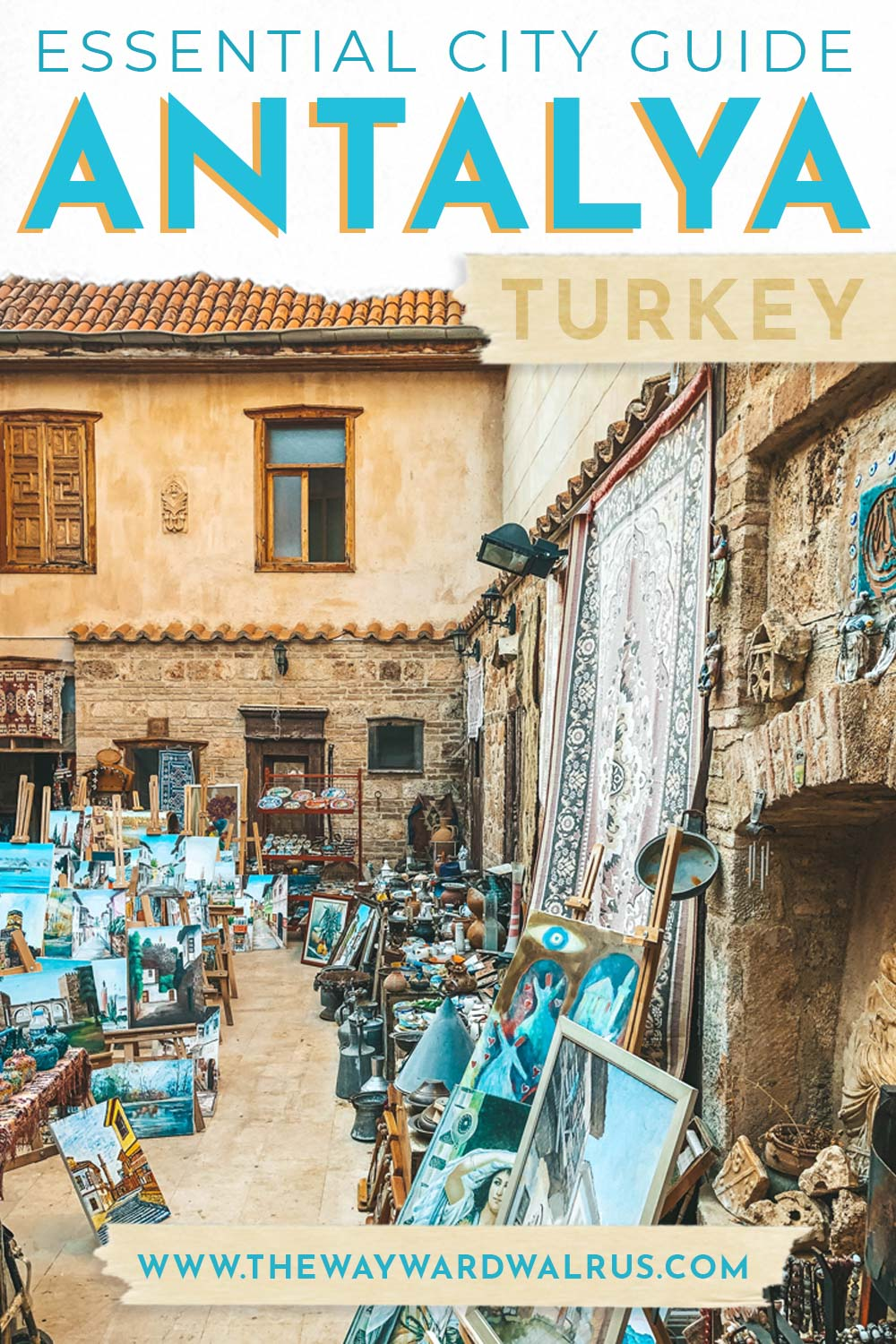 Everything you need to know about visiting Antalya, the gateway to Turkey's beautiful Turquoise Coast. Travel guide includes what area to stay in, where to eat and top things to do in Antalya. #TurquoiseCoast #TurkishRiviera #TheWaywardWalrus